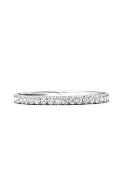 Martin Flyer Micropave Cut Down Wedding Band DWBM18SQ-F product image
