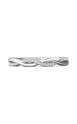 Martin Flyer Micropave Cut Down Wedding band DWBM39XSQ-F product image