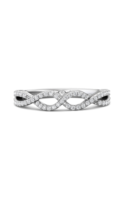 Martin Flyer Micropave Cut Down Wedding Band DWBM57XSQ-F product image