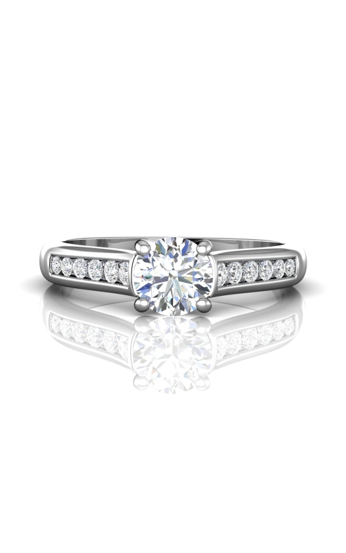 Martin Flyer Channel & Shared Prong Engagement ring CTC01Q-C-6.5RD product image