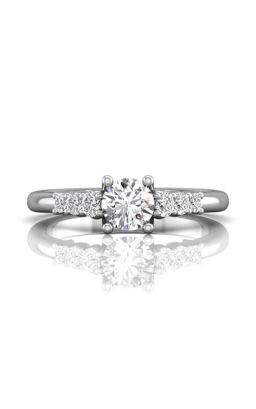 Martin Flyer FlyerFit Channel & Shared Prong Engagement Ring CTSP01PL-C-5.5RD product image
