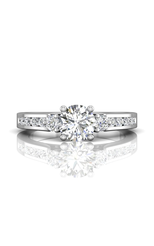Martin Flyer Channel & Shared Prong Engagement ring DERC03XSPL-C-6.0RD product image