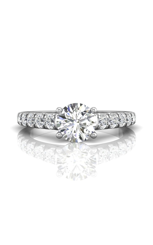 Martin Flyer Flyer Fit Micropave Engagement Ring DERM34SQ-C-7.0RD product image