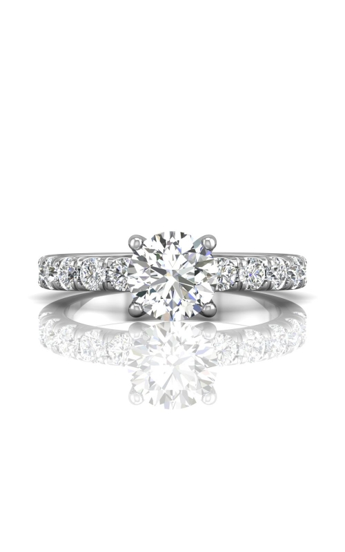 Martin Flyer Flyer Fit Micropave Engagement Ring  DERM4MZ-C-7.5RD product image