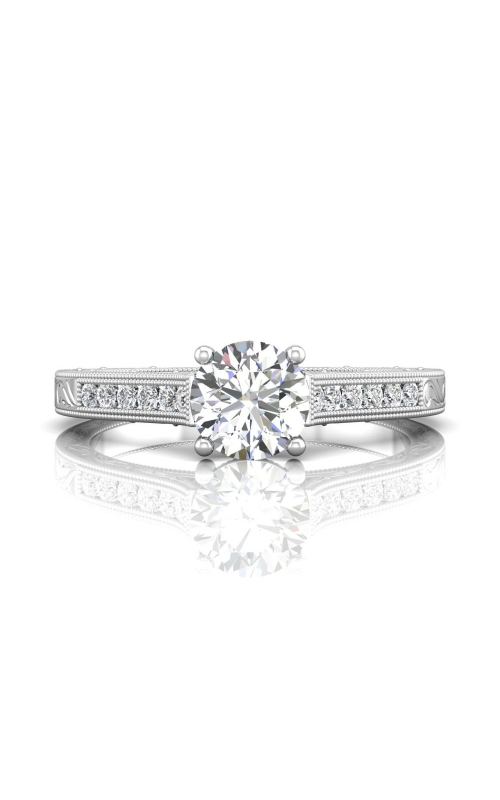 Martin Flyer FlyerFit Channel & Shared Prong Engagement Ring VC06PL-AENG-C-6.5RD product image