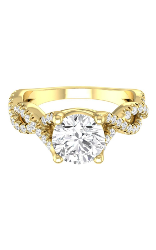 Martin Flyer Micropave Engagement ring DERM58SYZ-F-6.5RD product image