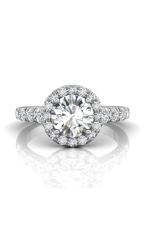 Martin Flyer Micropave Halo Engagement ring DERMH34MRDPL-C-7.5RD product image