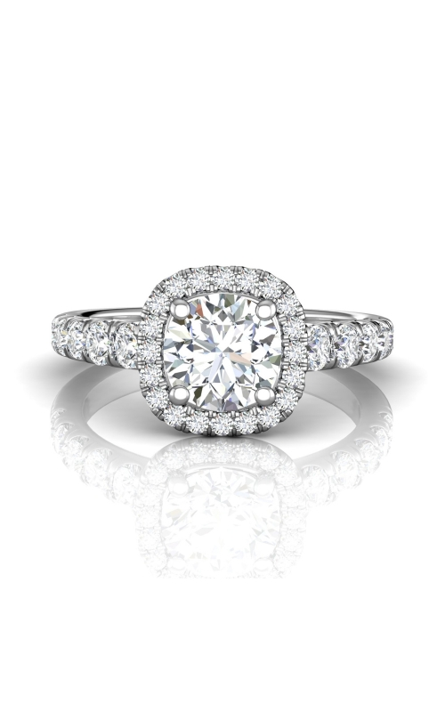 Martin Flyer Micropave Halo Engagement ring DERMH34SPL-C-7.0RD product image