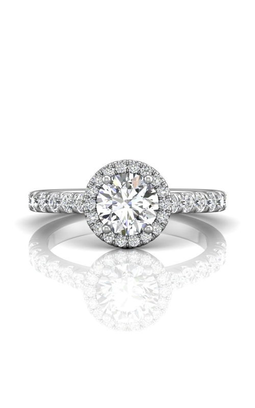 Martin Flyer Micropave Halo Engagement ring DERMH4SPL-C-6.5RD product image