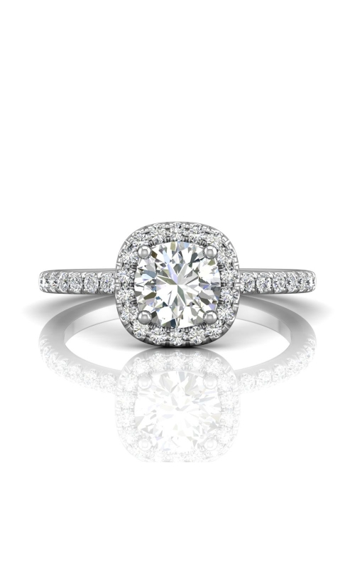 Martin Flyer Micropave Halo Engagement ring DERMH59XSRPL-C-6.5RD product image