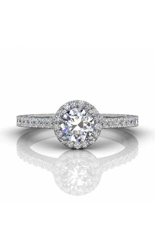 Martin Flyer Flyer Fit Vintage Engagement Ring DERMH5XSPL-AENG-C-5.7RD product image