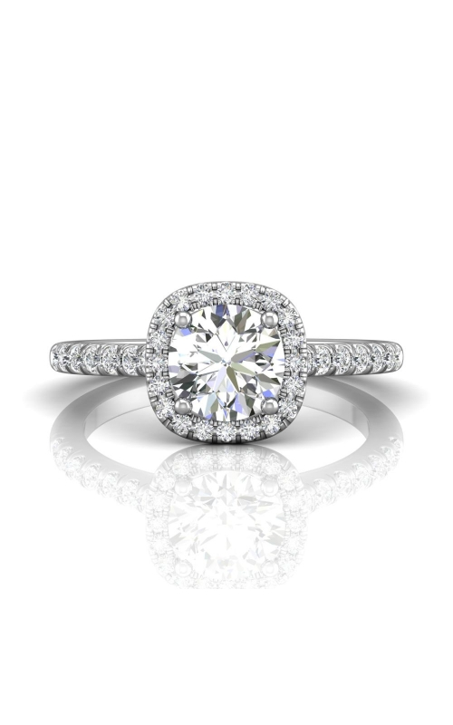 Martin Flyer Micropave Halo Engagement ring DERMH7CUPL-C-6.5RD product image