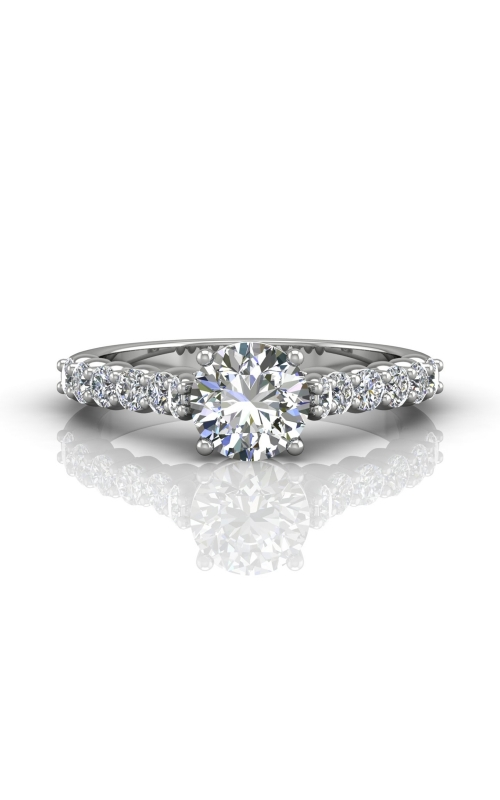 Martin Flyer Channel & Shared Prong Engagement ring DERSP03XSPL-C-6.5RD product image