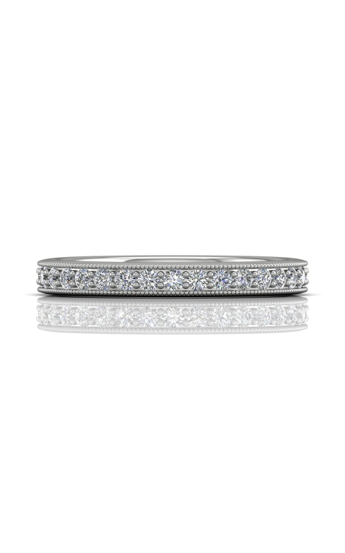 Martin Flyer Micropave Bead Set Wedding band DWBM1PL-.35-C product image