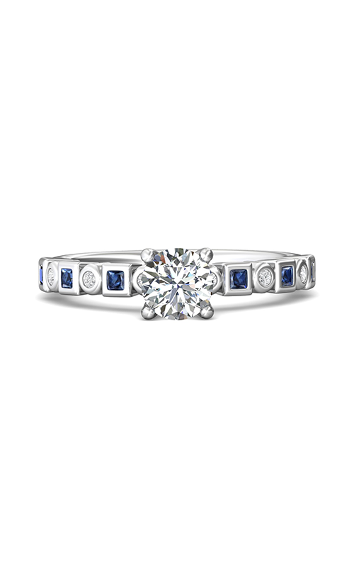 Martin Flyer FlyerFit Channel & Shared Prong Engagement Ring DABM28XSAQ-F-5.7RD product image