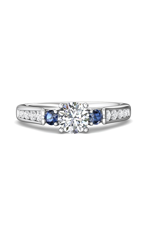 Martin Flyer Channel & Shared Prong Engagement ring DERC03RDAQ-F-6.0RD product image