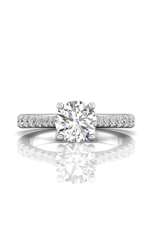 Martin Flyer Flyer Fit Micropave Engagement Ring DERM80SQ-F-7.5RD product image