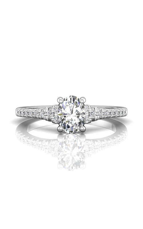 Martin Flyer Flyer Fit Micropave Engagement Ring DERM79Q-F-7.3X5.3OV product image