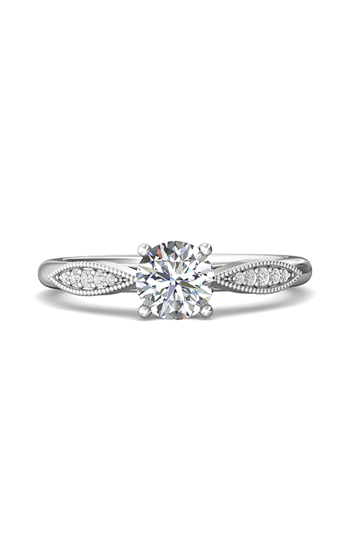 Martin Flyer Flyer Fit Micropave Engagement Ring DERM31XSQ-F-6.0RD product image