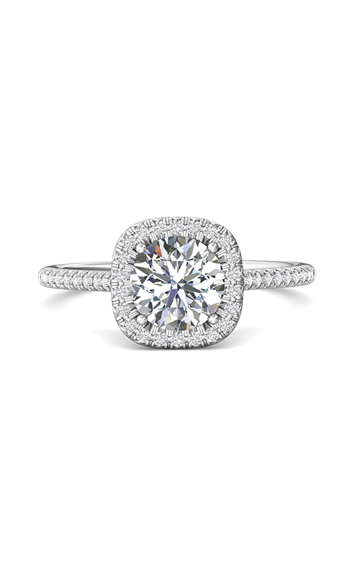Martin Flyer Micropave Halo Engagement ring DERMH54RCUQ-F-7.0RD product image
