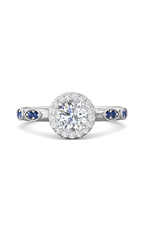 Martin Flyer Micropave Halo Engagement ring DERMH36XSAQ-F-6.0RD product image