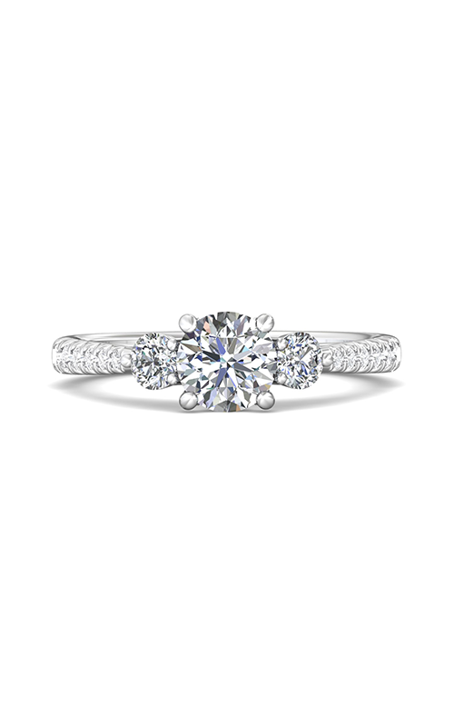 Martin Flyer Three Stone Engagement ring DERT04XSRQ-F-6.0RD product image