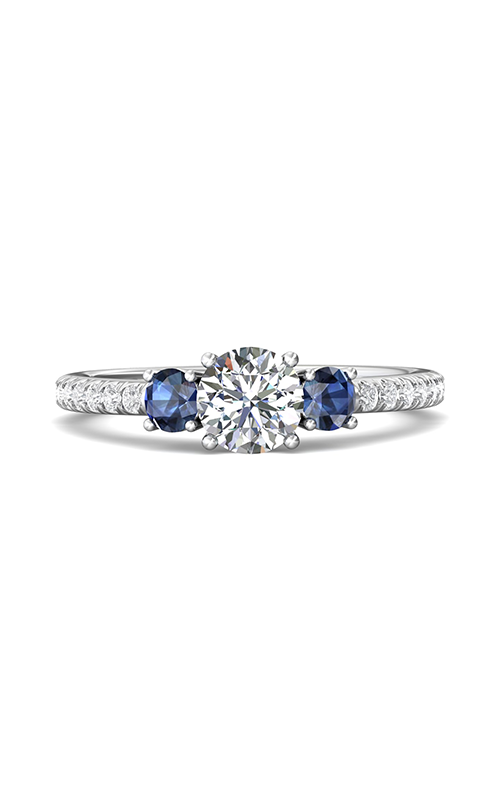 Martin Flyer Three Stone Engagement ring DERT08RDAQ-F-5.7RD product image