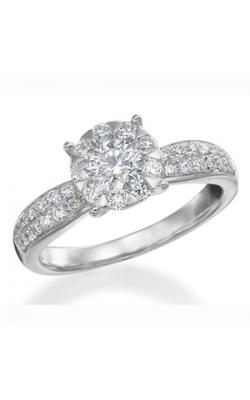 Memoire Diamond Bouquets Engagement Ring MBQ8R1W product image