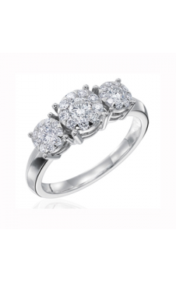 Memoire Diamond Bouquets Engagement Ring MBQ27R66 product image