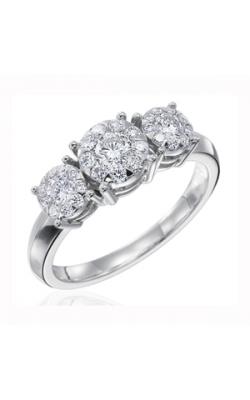 Memoire Diamond Bouquets Engagement Ring MBQ27R1 product image