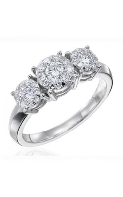 Memoire Diamond Bouquets Engagement Ring MBQ27R120 product image