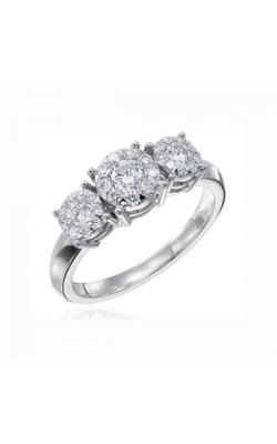 Memoire Diamond Bouquets Engagement Ring MBQ27R33 product image