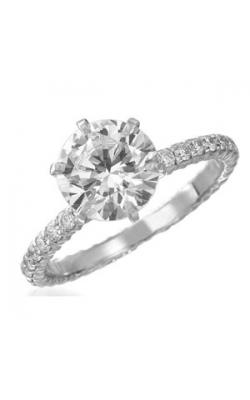 Memoire Pétite Prong Engagement Ring MIPH149W product image