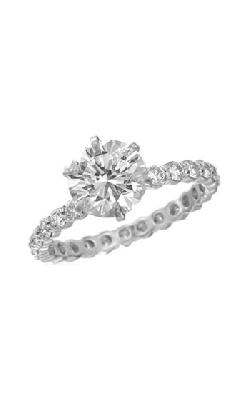 Memoire Pétite Prong Engagement Ring MIPH196W product image