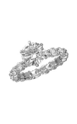 Memoire Pétite Prong Engagement Ring MIPH1190W product image