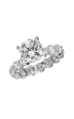Memoire Pétite Prong Engagement Ring MIPH13W product image