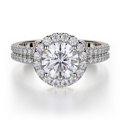 Michael M Europa Engagement Ring R490-1