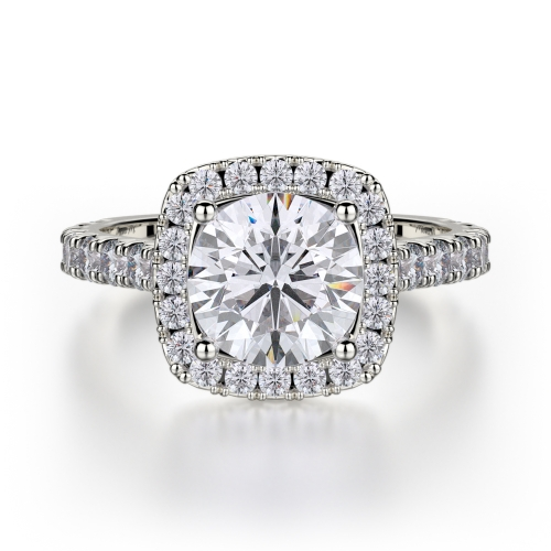Michael M Monaco Engagement Ring R615-1.5