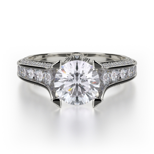 Michael M Strada Engagement Ring R678-1.5