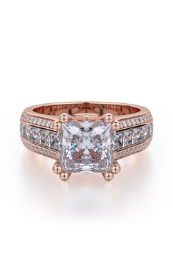 Michael M Princess Engagement ring R401S-1.5 product image