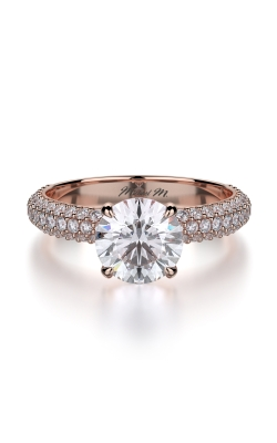 Michael M Crown Engagement ring R699-1.5 product image