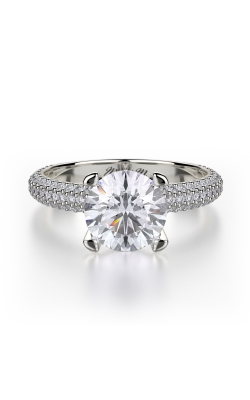 Michael M Crown Engagement ring R702-2 product image