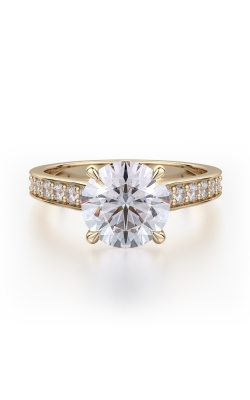 Michael M Crown Engagement ring R703-2 product image