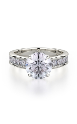 Michael M Crown Engagement Ring R704-2 product image