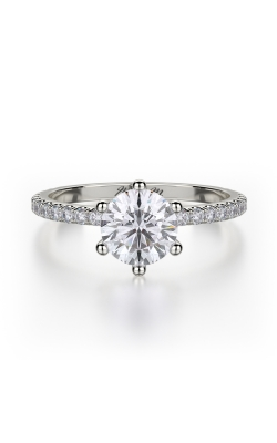 Michael M Crown Engagement Ring R713-1 product image