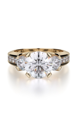 Michael M Trinity Engagement ring R429-2 product image