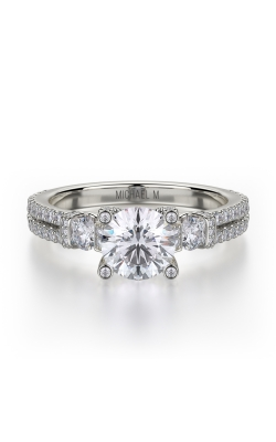 Michael M Trinity Engagement ring R502-1 product image