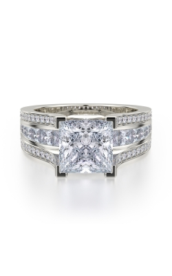 Michael M Princess Engagement ring R465-2 product image