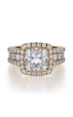 Michael M Princess Engagement ring R663-2 product image