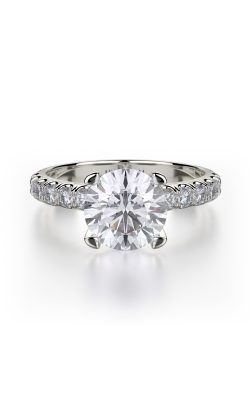Michael M Crown Engagement ring R716-2 product image